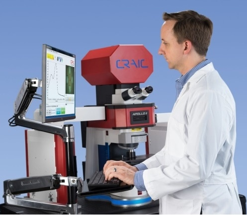 Raman Spectrometer for Raman Microspectroscopy