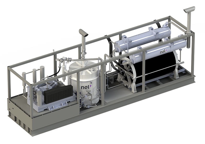 Containerized Alkaline Hydrogen Generators: 150 to 300 Nm³/h