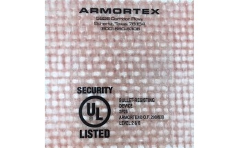 Armortex Bullet-Resistant Fiberglass Panels for Ballistics Applications
