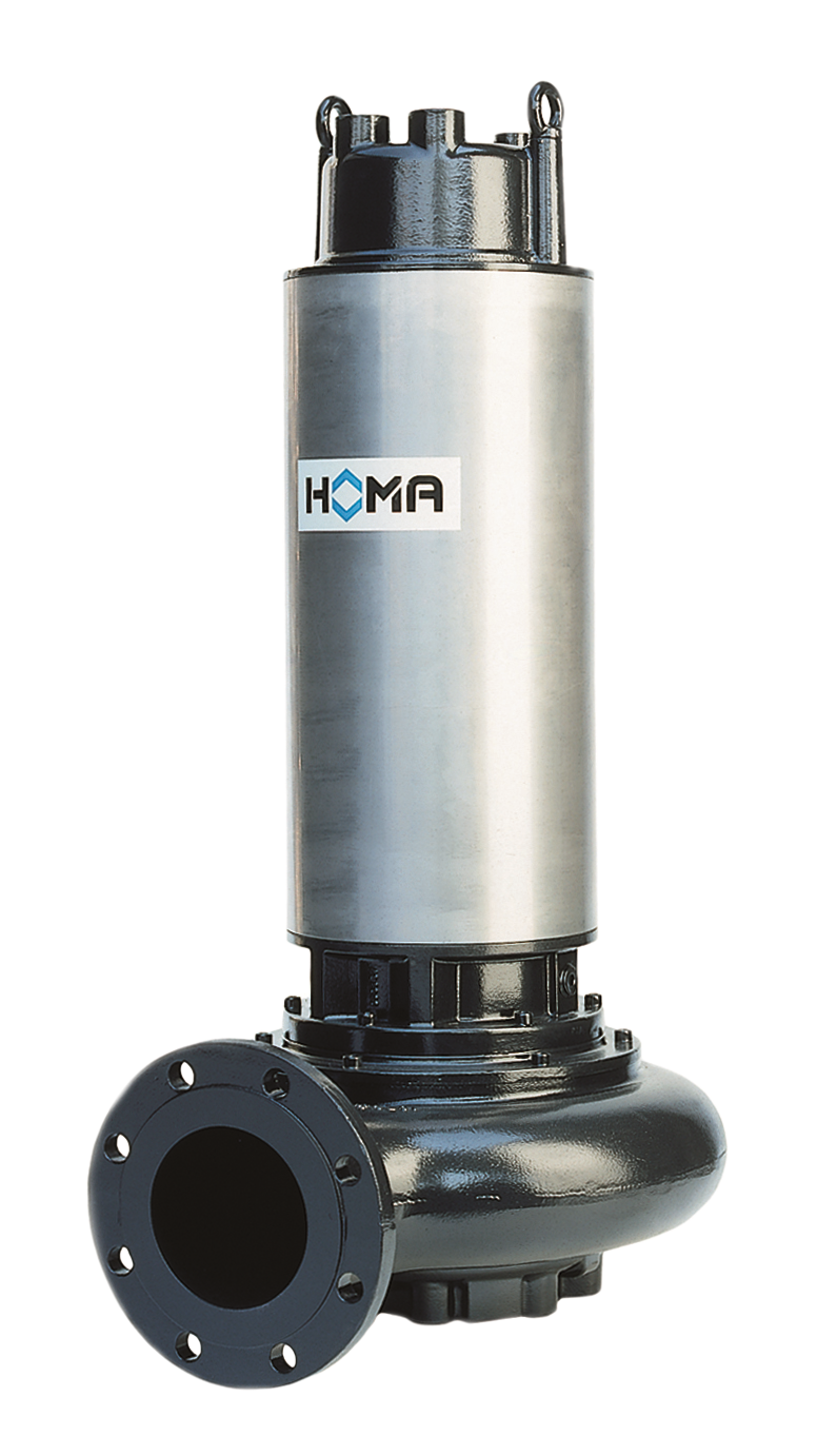 HOMA Pump's Submersible A Series—Wastewater Pumps
