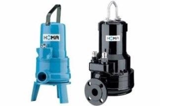 The GRP Series of Grinder Pumps from HOMA