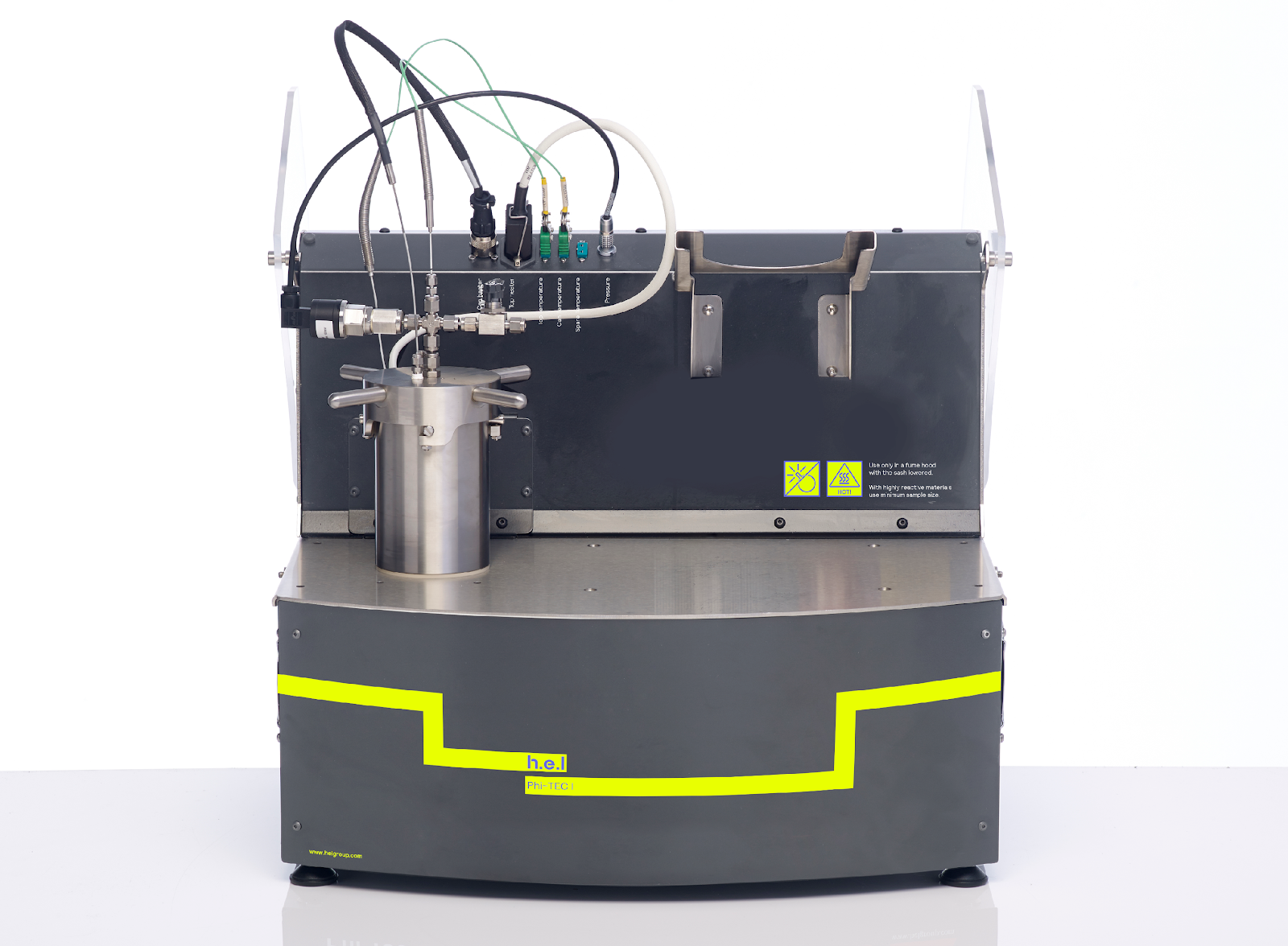 Phi-TEC I: A Bench-Top Adiabatic Calorimeter
