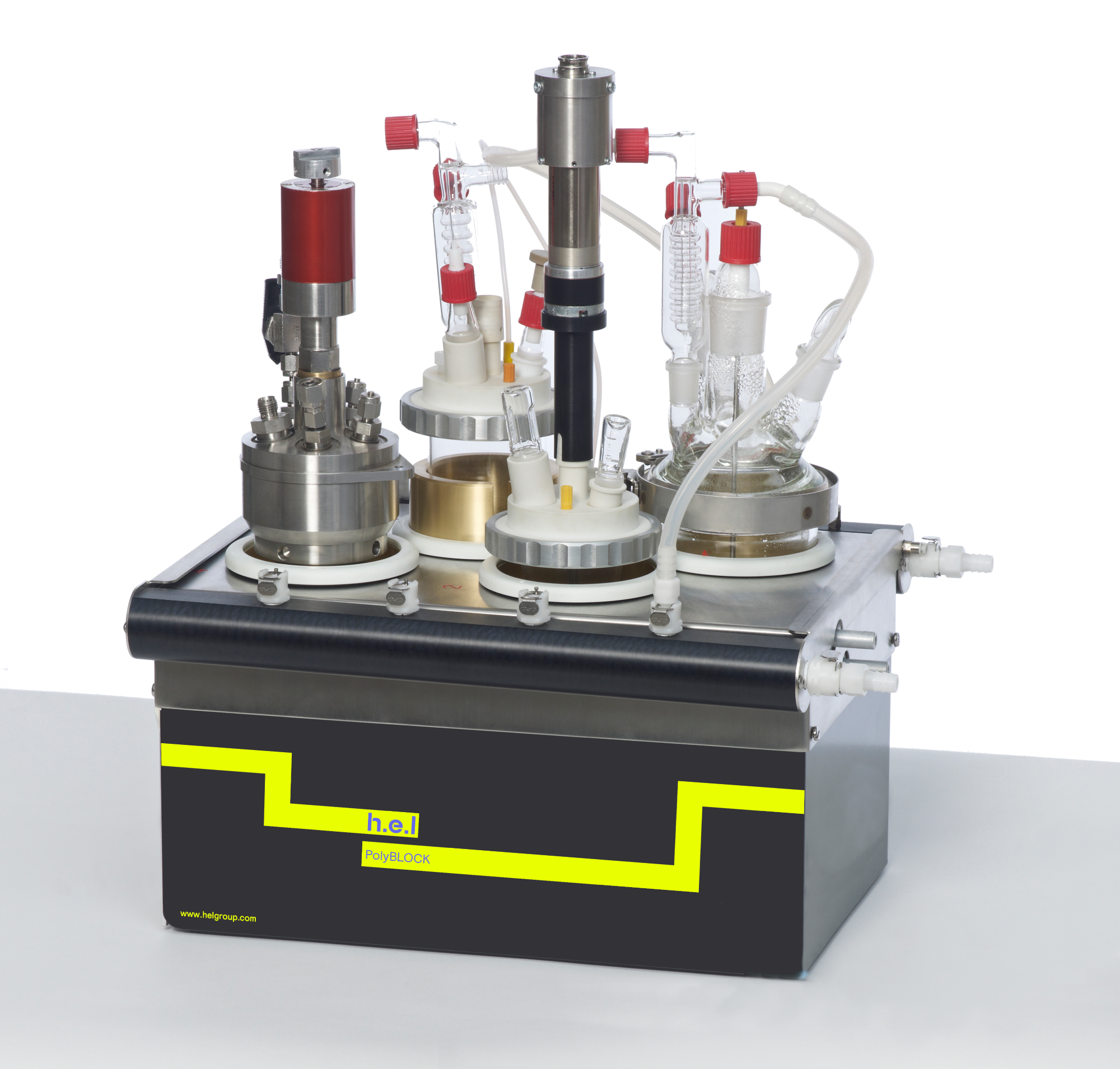 PolyBLOCK 4: A Bench-Top, Compact 4 Reactor Automated Parallel Synthesis Platform