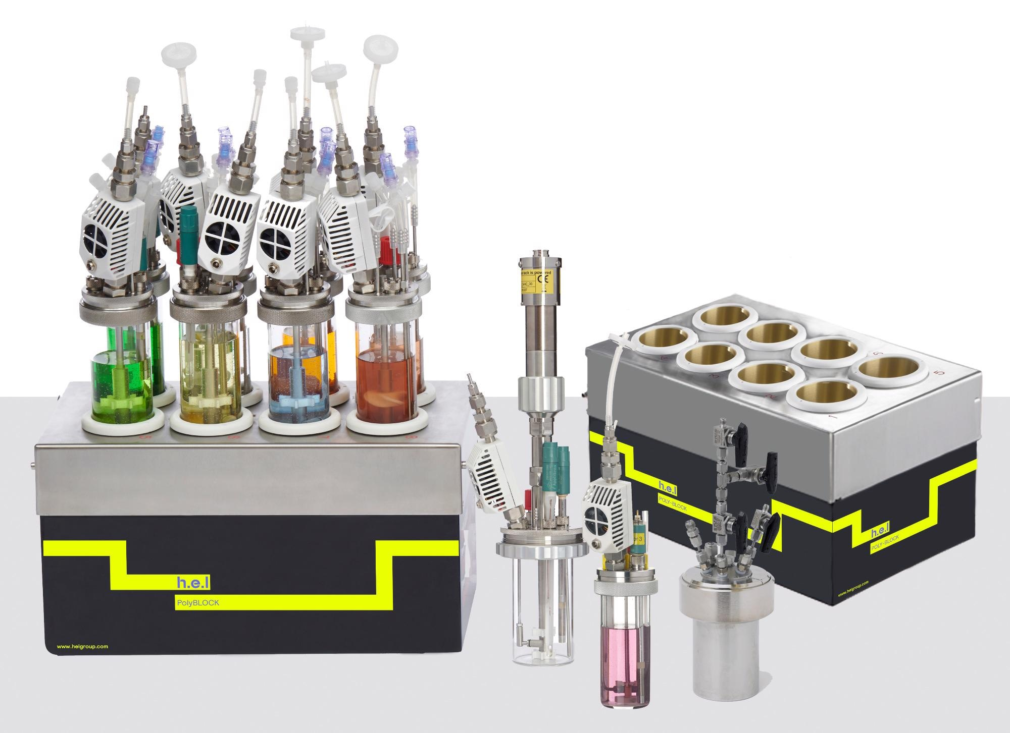 PolyBLOCK 8: A Compact 8 Reactor, Bench-Top, Automated Parallel Synthesis Platform
