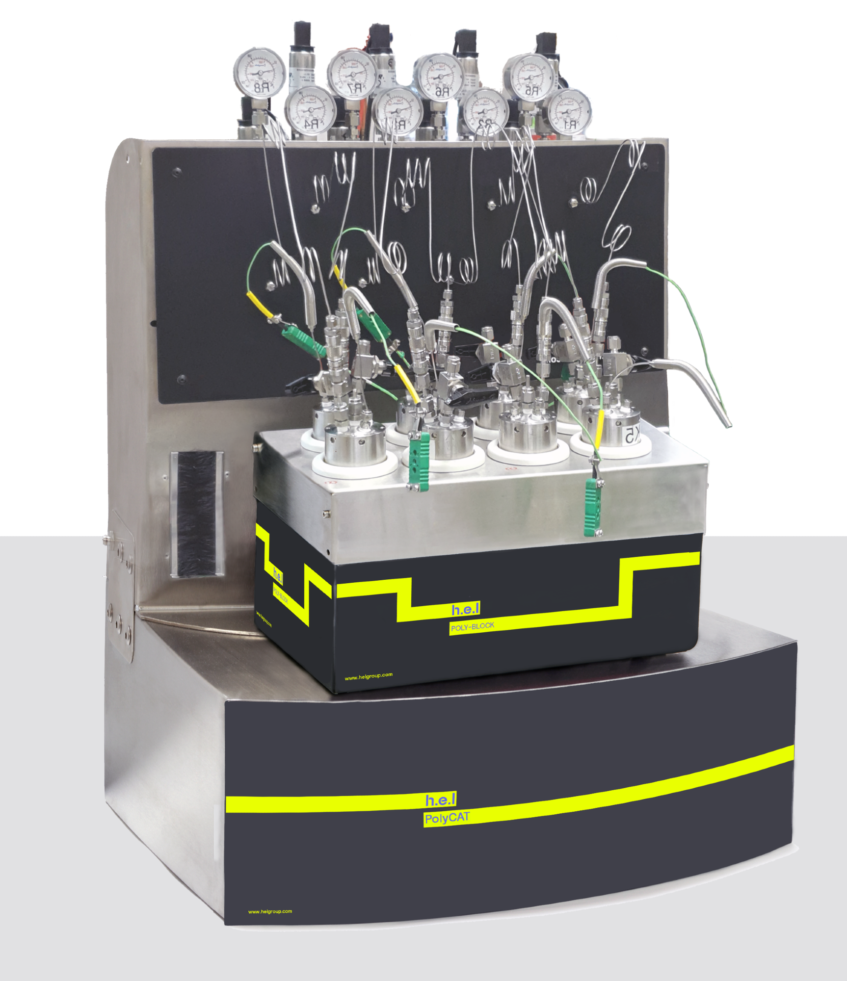 PolyCAT 8: Bench-top, 8-reactor, automated parallel catalyst screening platform