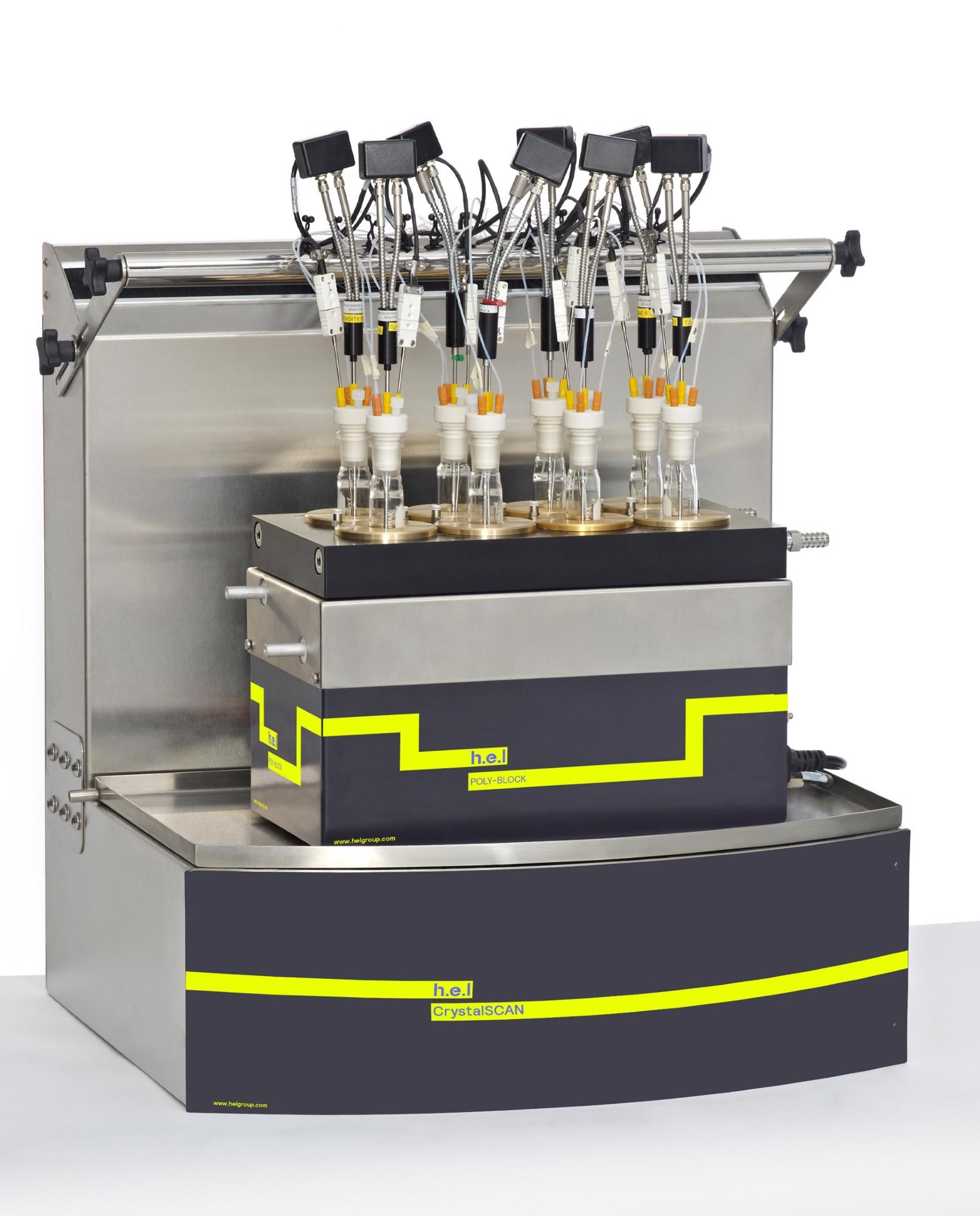 CrystalSCAN: A Benchtop, Automated Parallel Crystallization Monitoring Platform