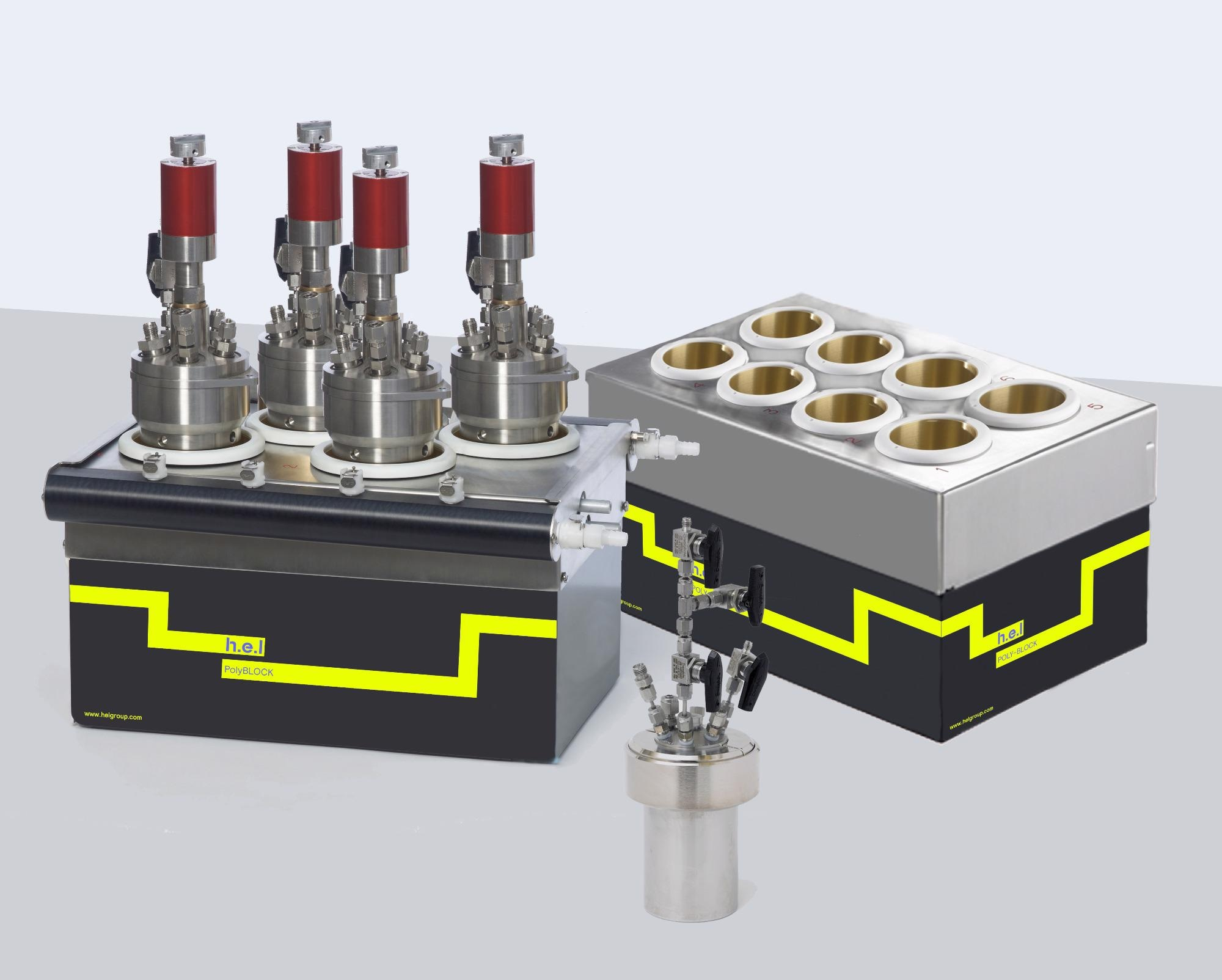 PolyBLOCK High Pressure: A High Pressure, Bench Top, Automated Parallel Synthesis Platform