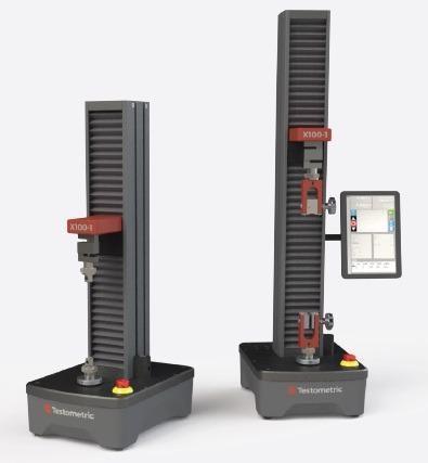 Testometric's X100 Series of Universal Testing Machines