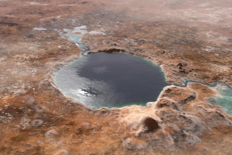 New Electrolysis System Could Extract Oxygen, Fuel from Martian Salty Water