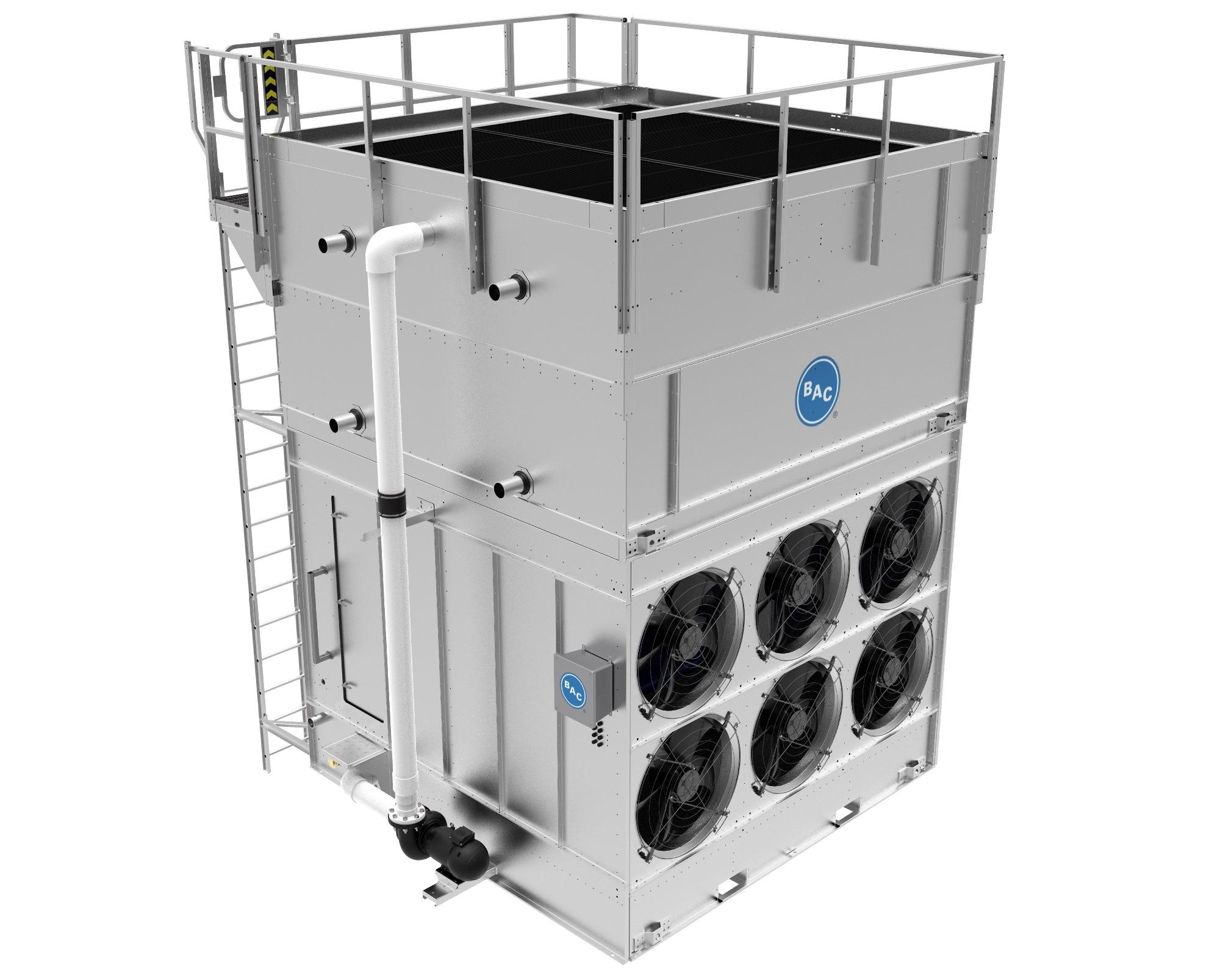 Baltimore Aircoil Company Introduces the Vertex™ Evaporative Condenser – Peak Reliability Meets Easy Maintenance