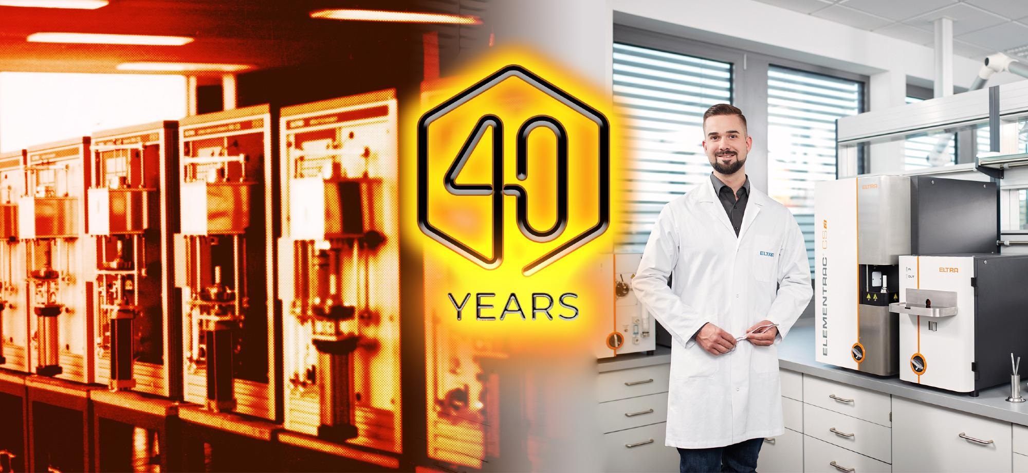ELTRA – 40 Years of Innovation and Precision in Elemental Analysis