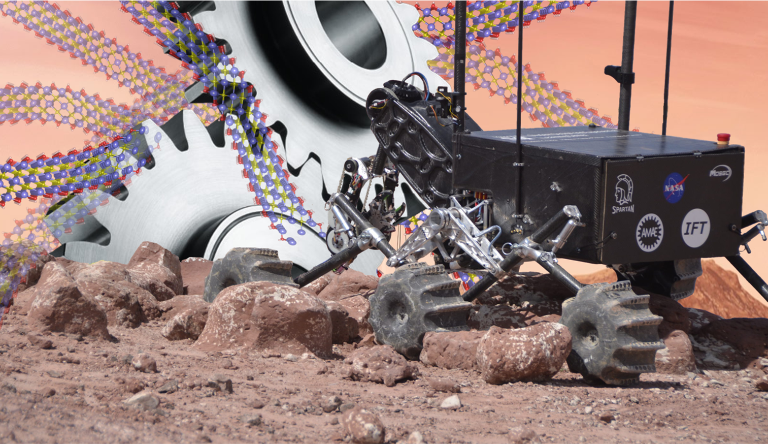 New Material may Reduce Wear and Tear on Future Space Rovers - AZoM