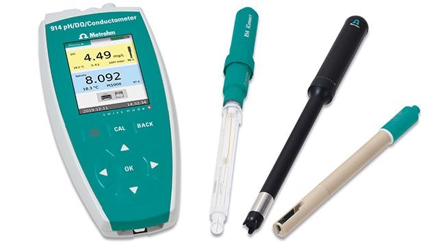 New meter for pH, conductivity, and dissolved oxygen (DO) measurement