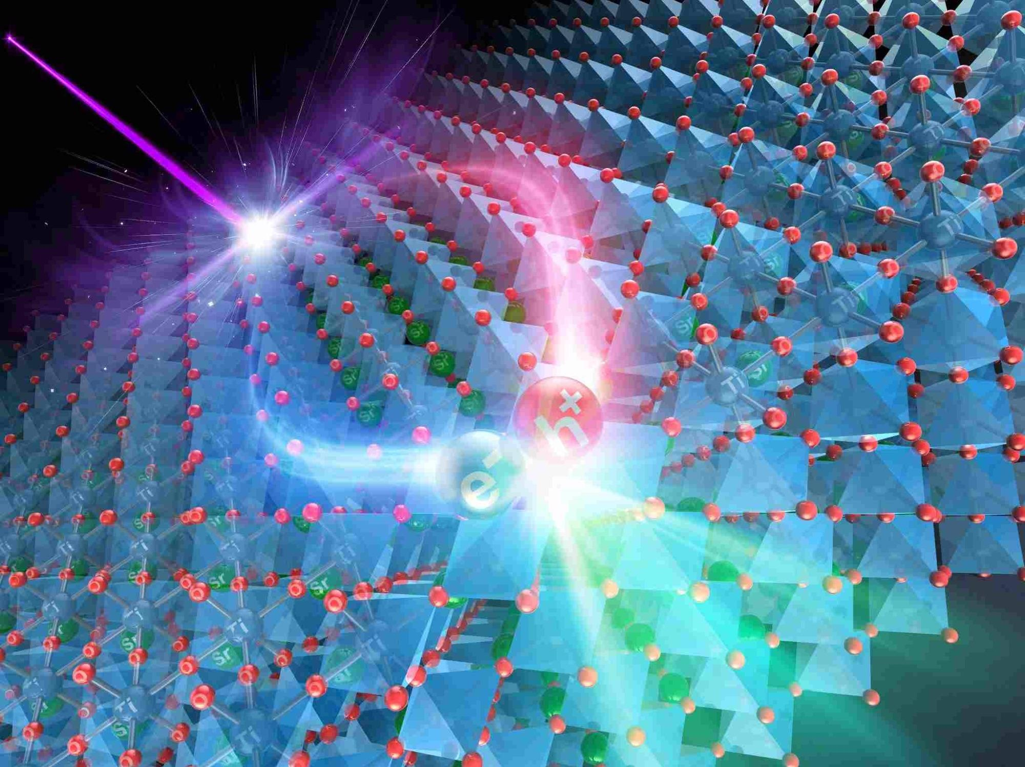 Study Reveals Effect of Nb-Doping on SrTiO3 Crystals.
