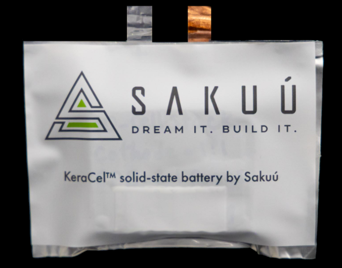 Sakuú Corporation Develops 3Ah Lithium Metal Solid-State Battery that Offers Improved Energy Performance over Market's Existing Options