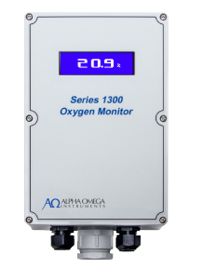 Alpha Omega Instruments New Series 1300 Oxygen Deficiency Monitor Launched by Process Insights