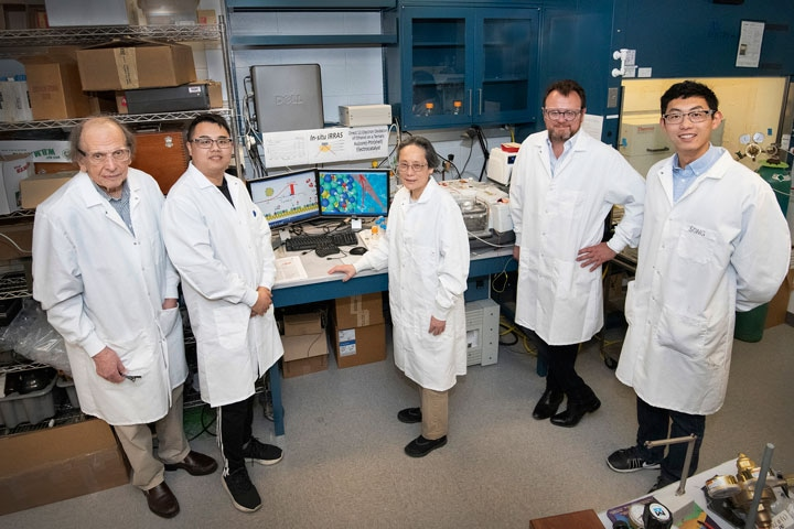 Innovative Core-Shell Catalyst Significantly Increases Efficiency of Ethanol Electro-Oxidation