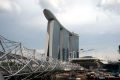 Masteel Supply Steel for Marina Bay Sands Resort and Casino Development in Singapore