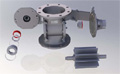 Coperion Sanitary Rotary Valves Approved by USDA for Dairy Applications