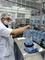 Mecmesin Digital Torque Tester Used to Test Tamper-Proof Caps on PET Bottles