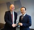Prestigious Academic Research Prize Presented By Morgan Ceramics CEO
