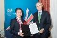"""Millennium Science Forum"" Held at British Embassy in Tokyo"