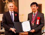 Oxford Instruments Welcomes Dr Masamitsu Hayashi, the Winner of the Sir Martin Wood Science Prize for Japan, to the UK