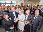 Lord-Lieutenant Presents Queen's Award for Enterprise to Markes