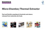 Microchamber sampling accessory for thermal desorption – New brochure released