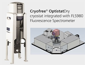 Oxford Instruments' OptistatDry Integrated Into Edinburgh Instruments' Fluorescence Spectrometers for Cryogen Free Cooling to Less Than 3 K