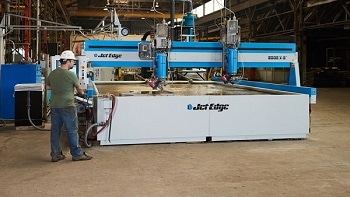 Meet Jet Edge Water Jet Cutting Experts at  Metalworking Manufacturing & Production Expo April 18 in Winnipeg