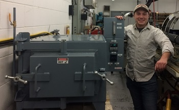 Lucifer Furnaces Equips R. Hueter with Benchtop Oven for Heat Treating with Nitrogen