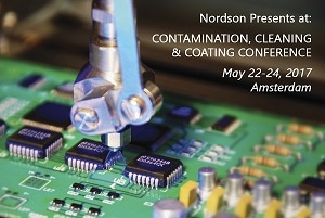 Nordson ASYMTEK and Nordson MARCH to Present Papers at Contamination, Cleaning, and Coating Conference in Amsterdam