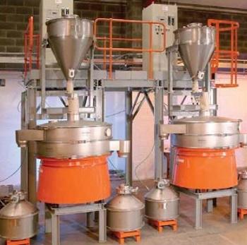High-Performance Vibratory Separators Screen Fine Alloy Powders For Contaminants