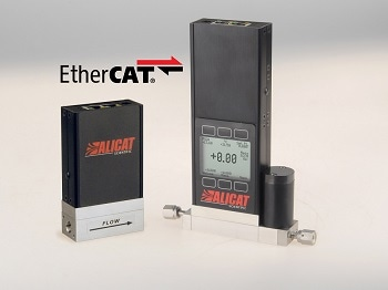 Alicat Mass Flow and Pressure Instruments Now Offer EtherCAT Protocol