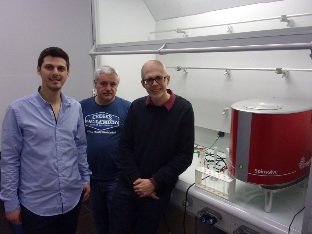 University of Nantes uses Magnetic Spinsolve in the development of new benchtop NMR methods