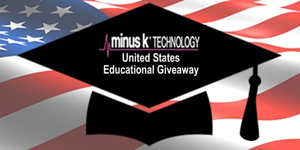 Minus K Congratulates to the following winners  of Minus K's 2018 Educational Giveaway