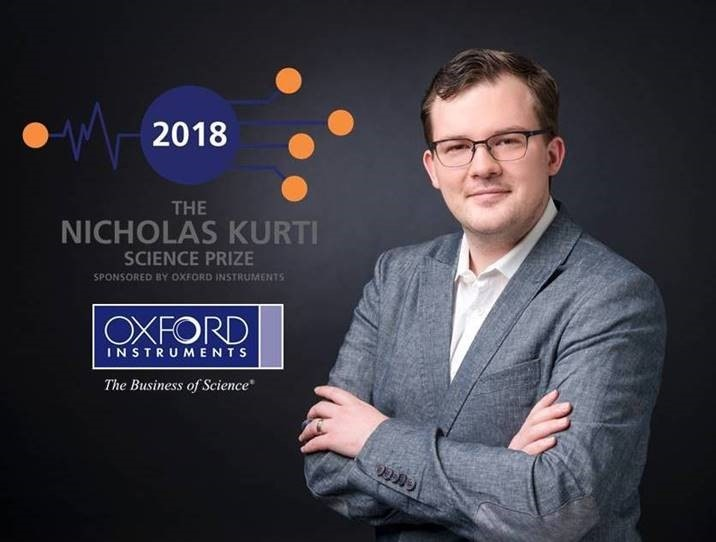 Oxford Instruments announces Dr Philip Moll as the winner of the 2018 Nicholas Kurti Science Prize for Europe