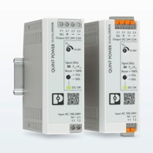 Quint Power Din-Mount Power Supplies in Stock at RS Components, with Dynamic Boost for High Starting-Current Loads