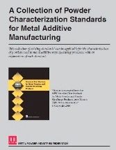 A Collection of Powder Characterization Standards for Metal Additive Manufacturing