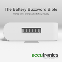 The Battery Buzzword Bible