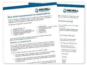 Critical Moisture Measurements for Compressed Air Dryers: New Article Available