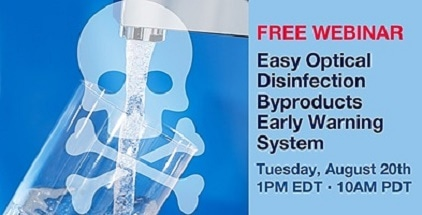 HORIBA Scientific Offers Free Webinar on Complying with EPA Standards on Disinfection Byproduct (DBP) Levels in Drinking Water