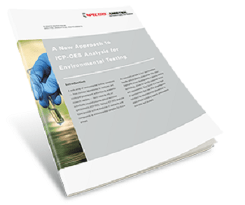 New Approach for Environmental Testing Using ICP-OES Outlined in New White Paper