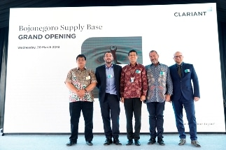 Clariant Offers Better Product Access for Oil Production Customers Through New Supply Base in Indonesia