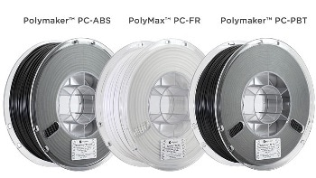 Polymaker Launches New PC-based 3D Printing Materials for Automotive