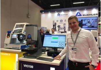 All-in-One Wilson VH3100 Fully Automated Hardness Tester Presented at HärtereiKongress