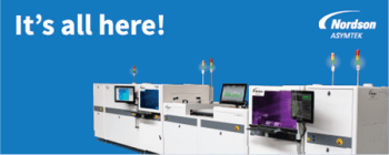 Nordson ASYMTEK Introduces More Technologies for Reliable, Efficient Conformal Coating and Dispensing at Productronica 2019