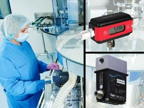 Ultrasonic Flowmeters Help Reduce Drug Production Costs
