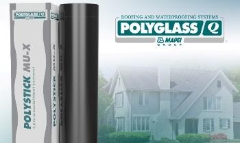 Polyglass Redesigns Polystick® MU-X High Temperature Underlayment